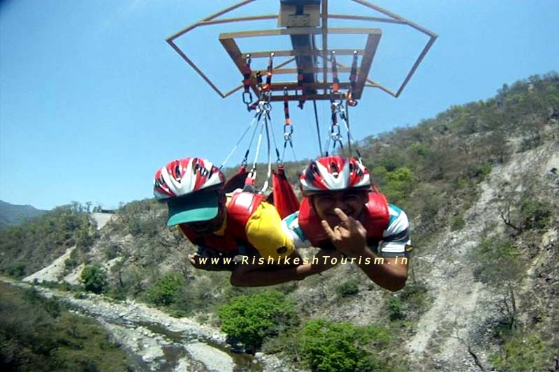 Flying Fox in Rishikesh | Rishikesh Flying Fox